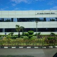 Foto diambil di PT. Honda Prospect Motor oleh Tanhar M. pada 1/9/2014