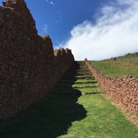 Photo taken at Ruinas Piquillaqtay by María N. on 4/4/2015