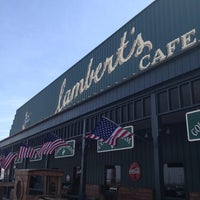 Photo taken at Lambert's Cafe by Ken G. on 3/12/2013