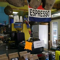 Photo taken at Surf Town Coffee Company by Justin K. on 4/21/2012