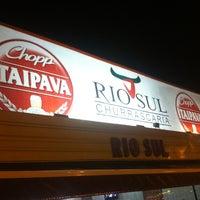 Photo taken at Churrascaria Rio Sul by RodrigoRomano . on 1/10/2013