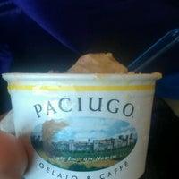 Photo taken at Paciugo Gelato & Caffè by Sasha G. on 11/17/2012
