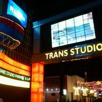 Photo taken at Trans Studio Mall (TSM) by Azril H. on 12/25/2012