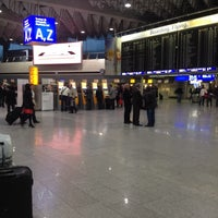 Photo taken at Lufthansa Check-in by IamD N. on 10/22/2013