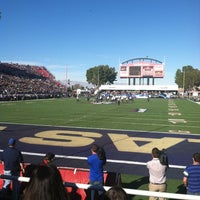 Photo taken at Sam Boyd Stadium by Samantha J. on 12/22/2012