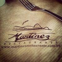 Photo taken at Martinez Restaurante by Василий Р. on 9/17/2012