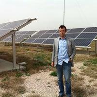 Photo taken at Depar Solar by Omer M. on 4/13/2013