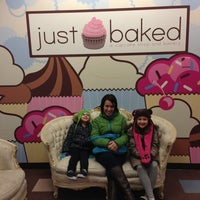 Photo taken at Just Baked by Sarah M. on 2/8/2013