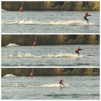 Photo taken at Wasserski-Anlage by Martin Z. on 10/18/2014