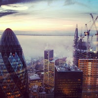Photo taken at Duck & Waffle by Mehmet B. on 1/14/2013