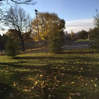 Photo taken at Parc Beaubien by Carolina A. on 11/10/2014
