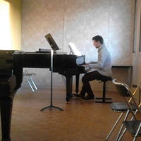 Photo taken at Conservatoire - Centre Georges Corse by Mathilde N. on 2/3/2014