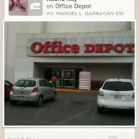 Photo taken at Office Depot by Nacho M. on 10/28/2012