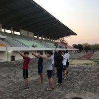 Photo taken at Main Stadium by ggift J. on 4/20/2017