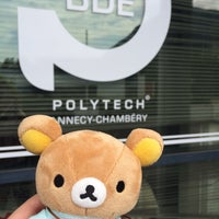 Photo taken at Polytech'Annecy by 🐻🇨🇦 on 7/5/2016