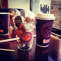 Снимок сделан в Dunkin' Donuts пользователем Romantsova K. 2/24/2013