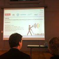 Photo taken at Haus der Wissenschaft | TU BS by Delia B. on 12/16/2014