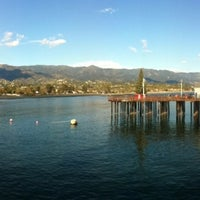Photo taken at Stearns Wharf by Lucian R. on 12/30/2012