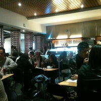 Photo taken at Crepes & Waffles by Yulia S. on 1/18/2013