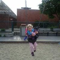 Photo taken at Moscone Playground by Sara J. on 3/19/2013