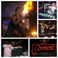 Photo taken at Como's by RockStar Rachel on 5/28/2013