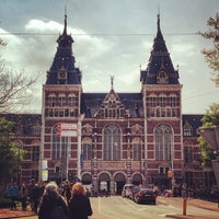 Photo taken at Rijksmuseum by Ronak D. on 5/24/2013