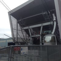 Photo taken at Portland Aerial Tram - Lower Terminal by A. Nicole J. on 7/20/2013