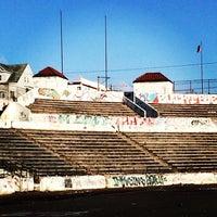 Photo taken at Hinchliffe Stadium by Sarah H. on 4/16/2014