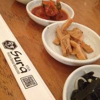 Photo taken at Sura Korean Restaurant by Miko F. on 5/14/2013