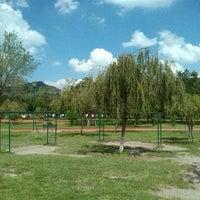 Photo taken at Parque Gral. Vicente Guerrero (Area de Juegos) by Octavio A. on 10/16/2013
