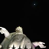 Photo taken at Notre Dame du Liban Harissa by Zeina M. on 12/24/2012