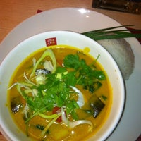 Photo taken at cha chã - Thai Positive Eating by Serkan G. on 1/19/2014