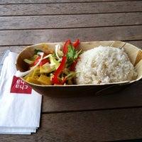 Photo taken at cha chã - Thai Positive Eating by Serkan G. on 11/7/2013