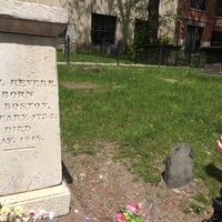 Photo taken at Paul Revere's Tomb by Alyson W. on 5/12/2016