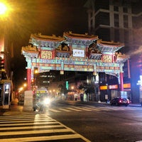 Photo taken at Chinatown Friendship Archway by Enze L. on 10/18/2012