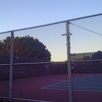 Photo taken at Mar Vista Park Tennis Courts by Molly H. on 1/8/2016