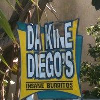 Photo taken at Da Kine Diego's by Adam R. on 3/7/2013