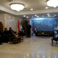 Photo taken at Embassy of the Republic of Indonesia by Pristi G. on 2/28/2017