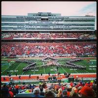 Photo taken at Memorial Stadium by Cameron on 10/26/2013