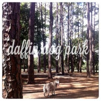 Photo taken at Daffin Park Dog Park by Esther on 9/17/2012
