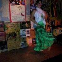 Photo taken at Cafe Sevilla by Liz S. on 10/21/2012