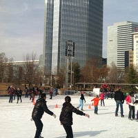 Photo taken at Devon Energy Ice Rink by Jody S. on 12/24/2012