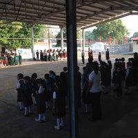 Photo taken at Escuela Primaria Lazaro Cardenas by Felix C. on 2/17/2014