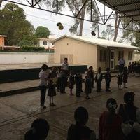 Photo taken at Escuela Primaria Lazaro Cardenas by Felix C. on 1/28/2013