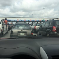 Photo taken at Conservation Toll Plaza by Simbo O. on 7/10/2017