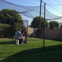 Photo taken at Jere's Batting Cages by Dan B. on 7/10/2013