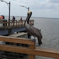 Photo taken at St. Simons Island Pier by G D. on 4/12/2013