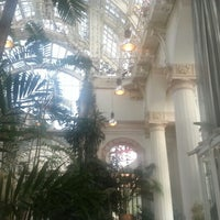 Photo taken at Palmenhaus by Andrey F. on 4/22/2013
