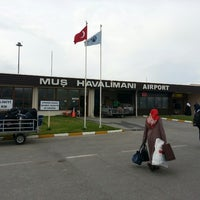 Photo taken at Muş Airport (MSR) by Enes S. on 5/16/2013