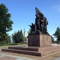Photo taken at Мемориал Героям Ольшанцам by Roman on 7/22/2013